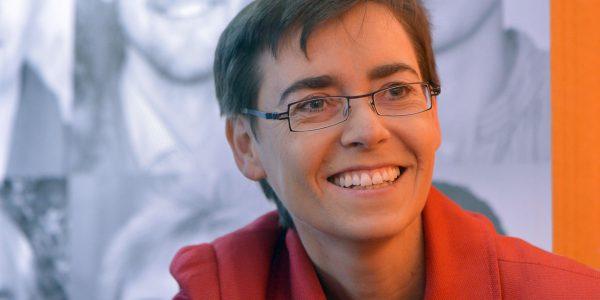 Margret Heckel bei der Buchmesse